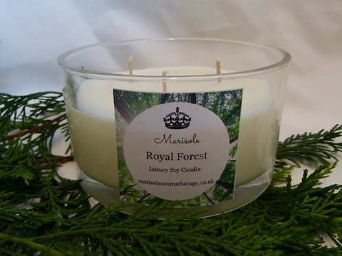 Royal Forest Luxury Soy Candle