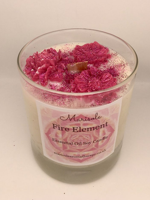 Fire Element Essential Oil Candle