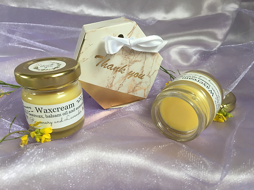 Beeswax Salve with Rosemary and Lavender E. Oils