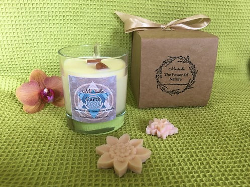 Earth E. Oil Gemstone Candle