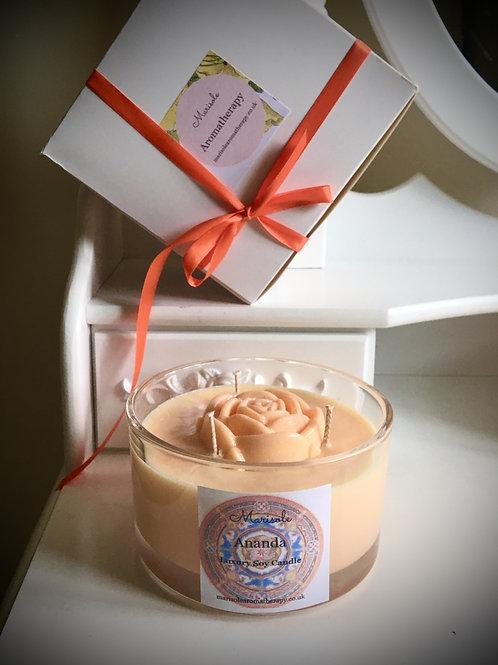 Ananda Luxury Soy Candle