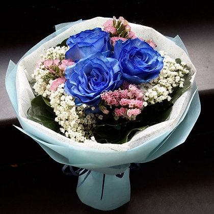 Ecuadorian Blue Rose Three