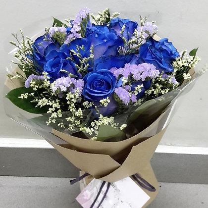 Ecuadorian Blue Rose Dozen