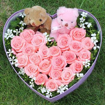 Pink Heart Box
