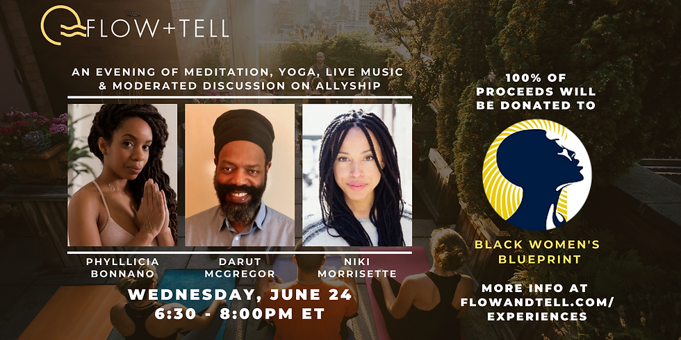 Flow+Tell x Black Lives Matter