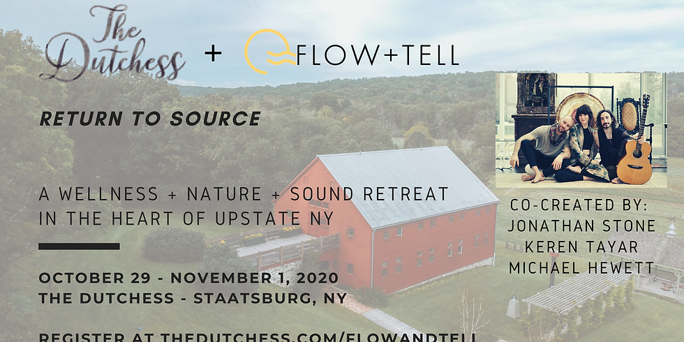 Return to Source: An Upstate Retreat of Yoga + Nature + Sound