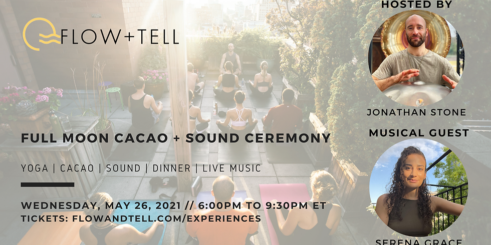 Full Moon Cacao + Sound Ceremony (Return to NYC!)