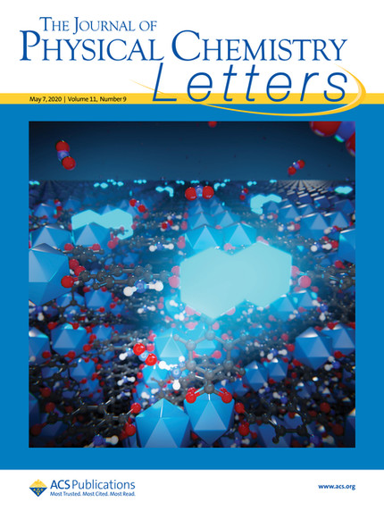 Check out for our nice cover in Journal of Physical Chemistry Letters