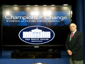 "White House Highlights Tom Lauria as an Entrepreneurial Mentor and ""Champion of Change"""