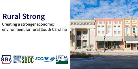 The SC SBDC Supports Rural Initiatives Throughout the State