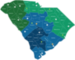South Carolina SBDC map