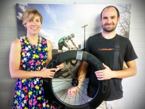 Wheels of business turn rapidly for startup Boyd Cycling