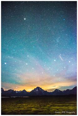 Stargazing in Grand Teton