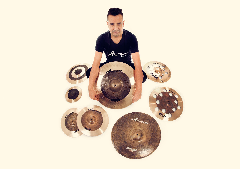 Beto Batera Arborea Cymbals Brasil