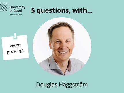 5 Questions with Douglas Häggström.