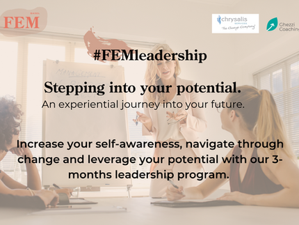 FEMleadership: Stepping into your potential.
