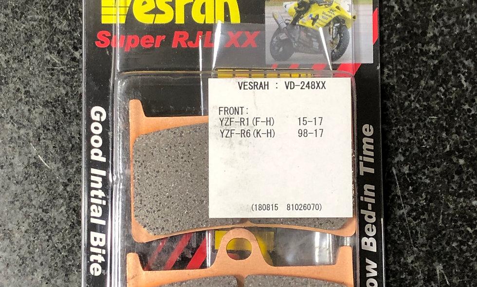 Vesrah SRJL-XX 248 Yamaha R1 R6