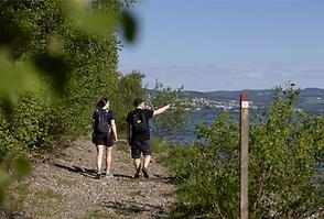 Pilgrimsleden Gjøvik Foto:Øyvind Stand E