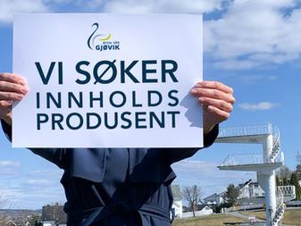 Innholdsprodusent og administrativ leder for Gjøvik Handel- og Næringsforening