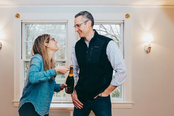 Cheers to Nicole & Ryan