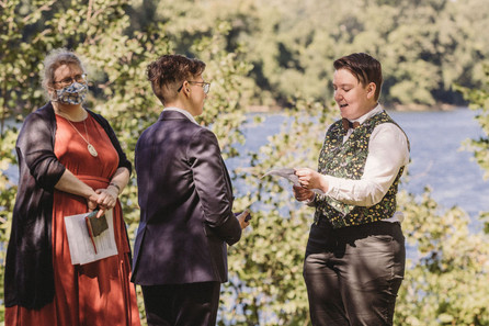 April and Rory Wedding