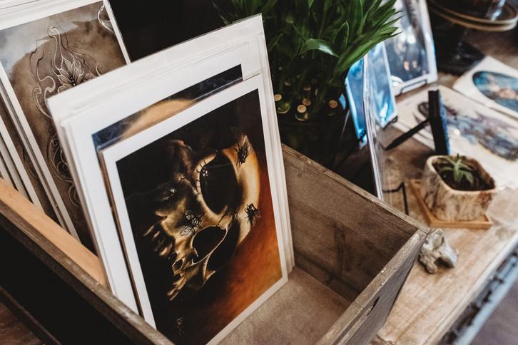 Gabe Londis's prints (drawingdeadart)