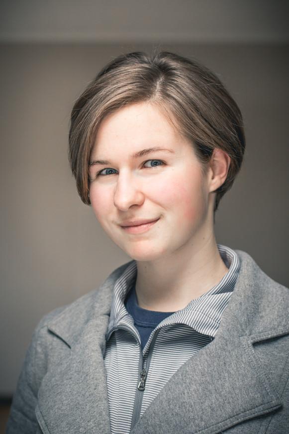 Stage actress Erin Hebert.