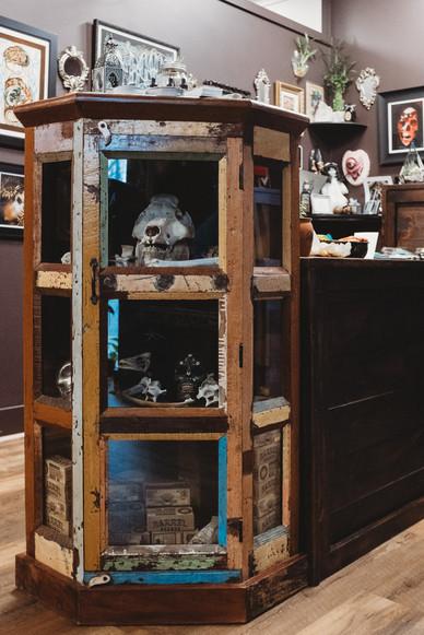Cabinet of skulls