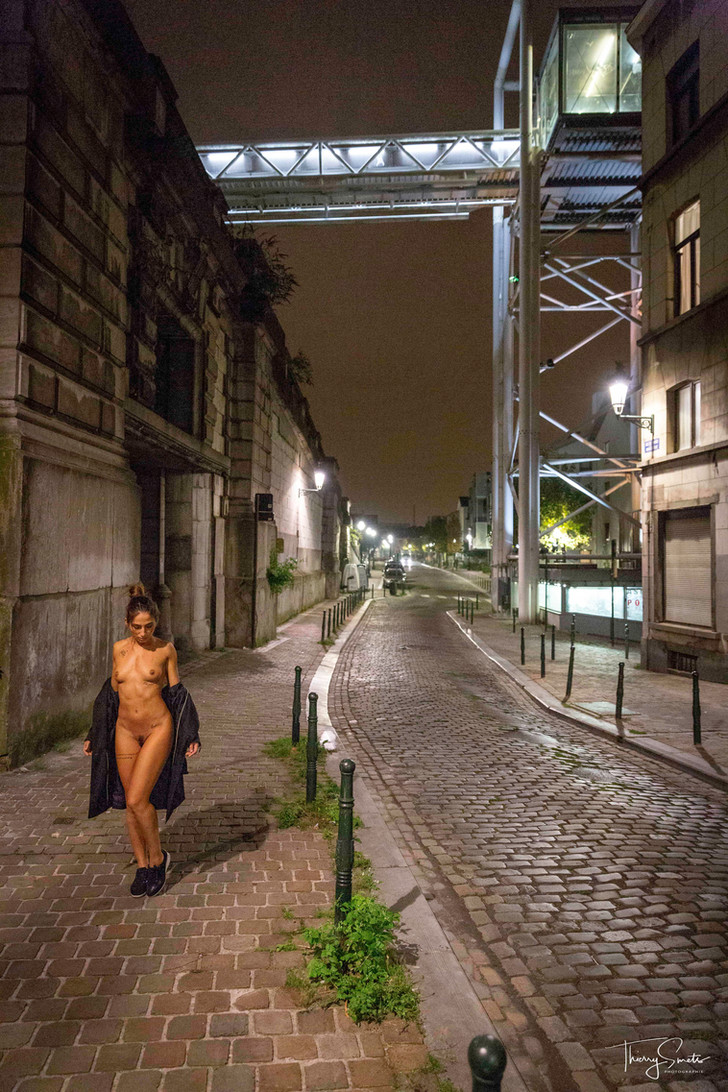 Brussels (nude) by night ...