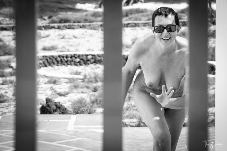 Lanzarote avec mon modèle préféré ...
