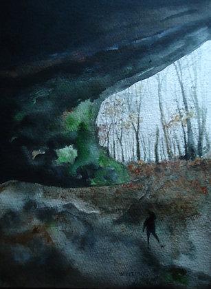 "Cave Adventure 9x12"""