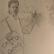 Geko vs Occupy Wall Street
