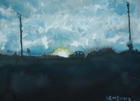 """Little Road TRip 9x12"""""""