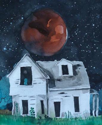 """Mars House 8x10"""""""