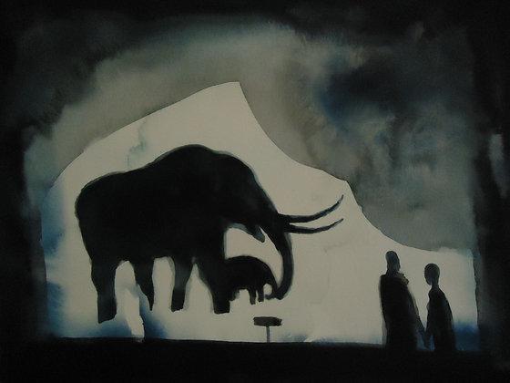 """Ice Age Exhibit 8x10"""""""