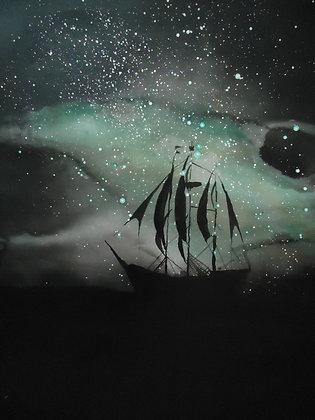 """Star Ship 20x20"""""""
