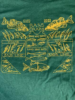 Bass Craps T-shirt XL