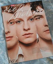 Cover von DIE BÜHNE, April Ausgabe, 2020, Frühlings Erwachen, Rolle Wendla Bergmann