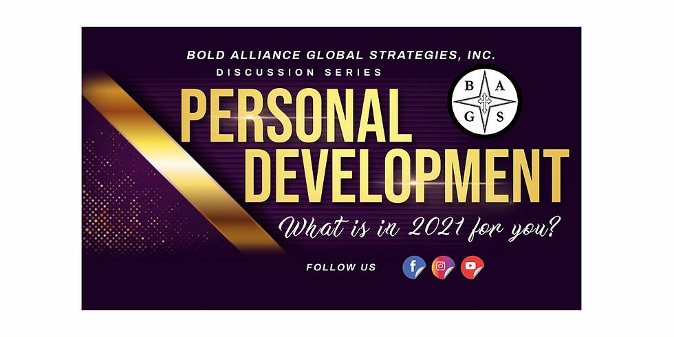 Discussion Series - Personal Development