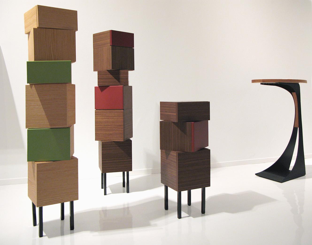 BLOCKS, rotary cabinet
