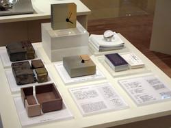 三種銅製置き時計, 削ぐデザイン削がれたカタチ, 2008