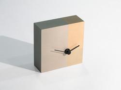 三種銅製置き置時計, 削ぐデザイン削がれたカタチ, 2008