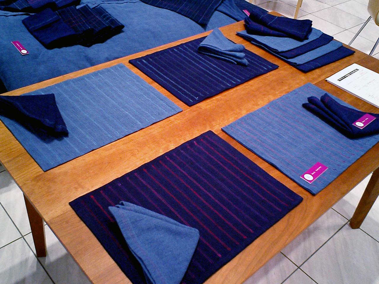 Blue et..., 伊予絣商品開発
