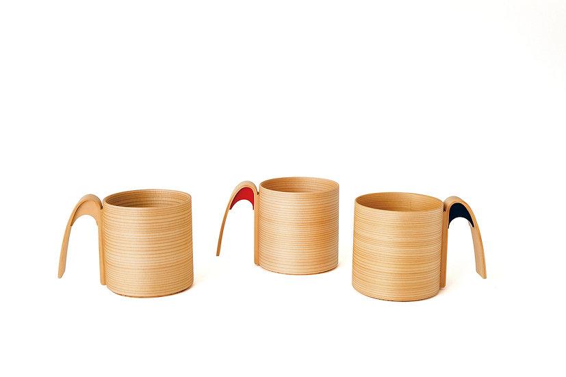 マグカップ(白木)/ Mug Cup (Natural)