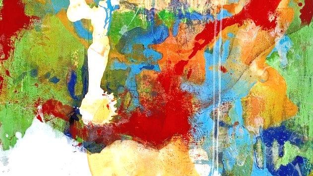 Acrylics on canvas 80 x 120 cm