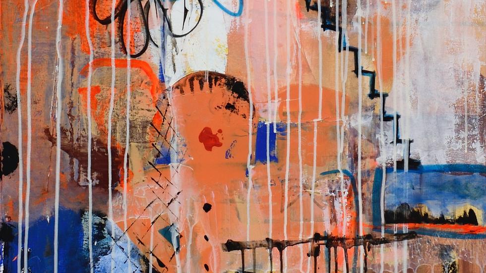 copy of Acrylics on canvas 80 x 120 cm