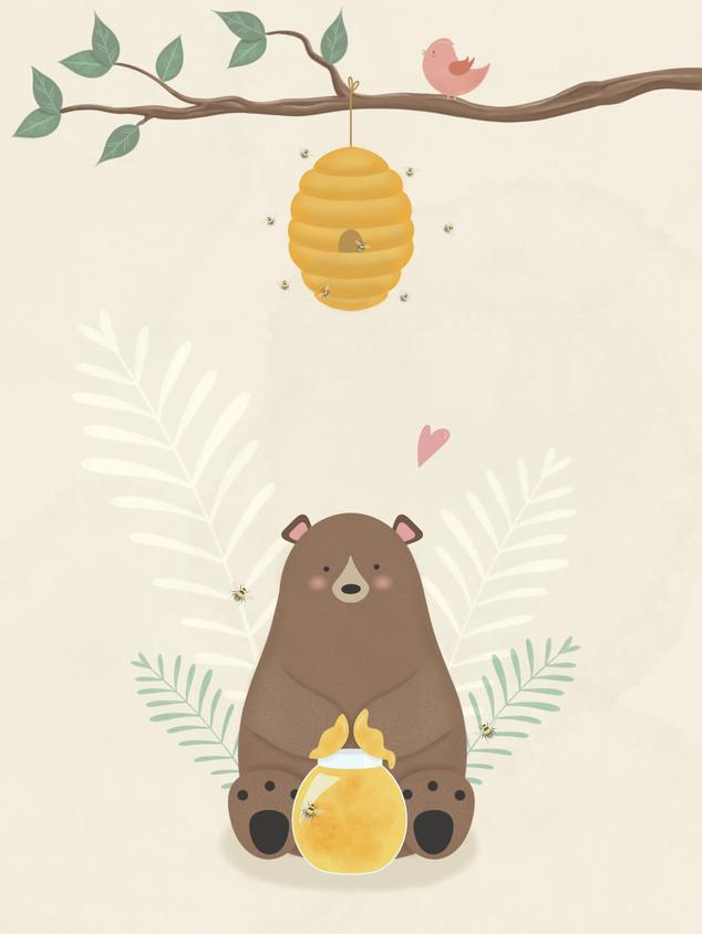ILLUSTRATION | HONEY BEAR