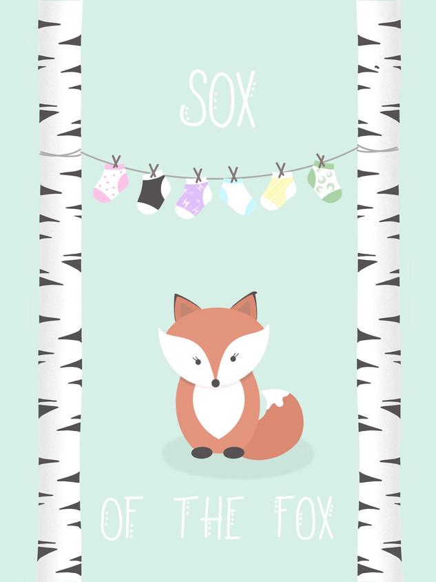 ILLUSTRATION | SOX OF THE FOX