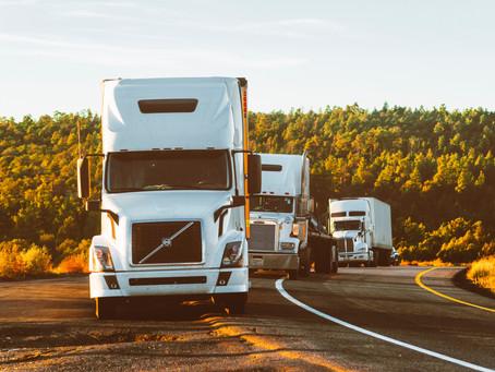 ¿Quién es responsable en un accidente con un camión?