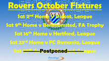 October fixtures mark 3 #FOOTBALL